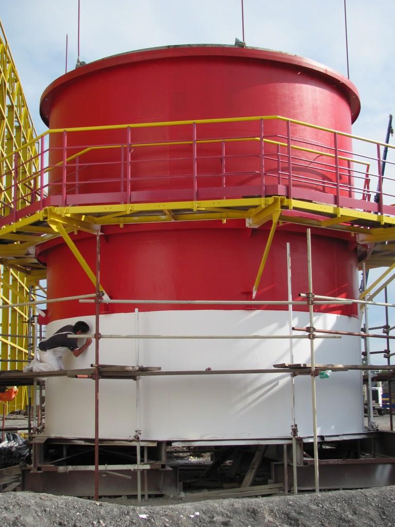 Gypat e transportit të tymit termoelektrana Sisak